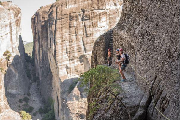 梅特歐拉Meteora:當地特色行程Local Tour-攀岩