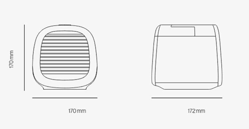 評價:EvaPolar-EvaChill迷你隨身冷氣機規格表