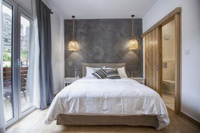 卡蘭巴卡梅特歐拉住宿推薦-Oikia guesthouse-極簡風格設計,有別於其他家設計,下次想住這一家。