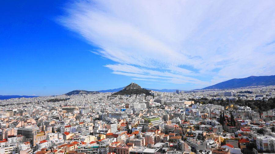 從雅典衛城觀賞利卡維多斯山丘