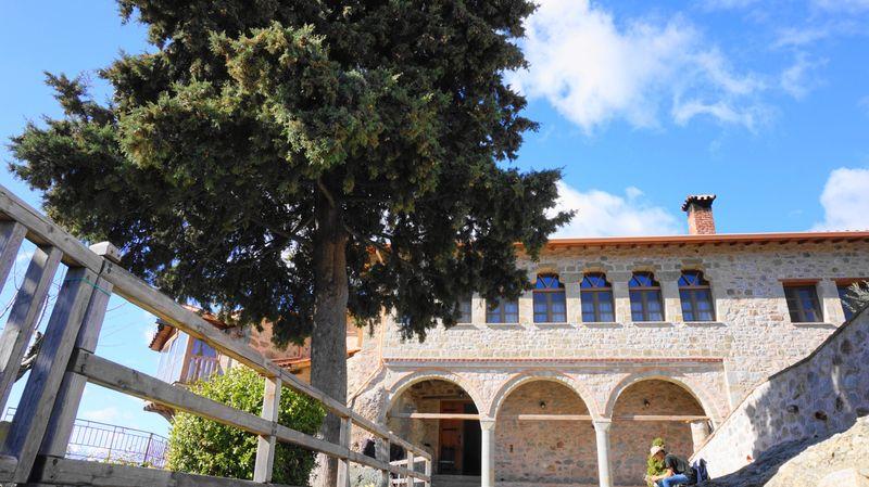 梅特歐拉Meteora修道院:聖三位一體修道院 Holy Trinity Monastery (Agia Triada)。