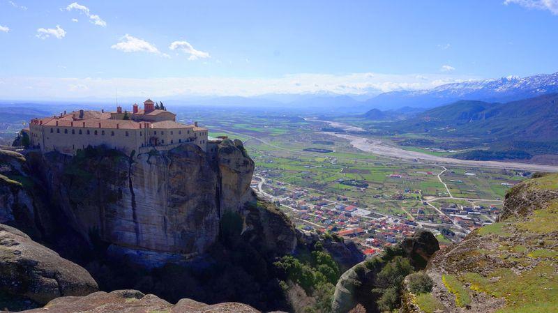 梅特歐拉Meteora修道院:聖史蒂芬女修道院 St. Stephen's Monastery.