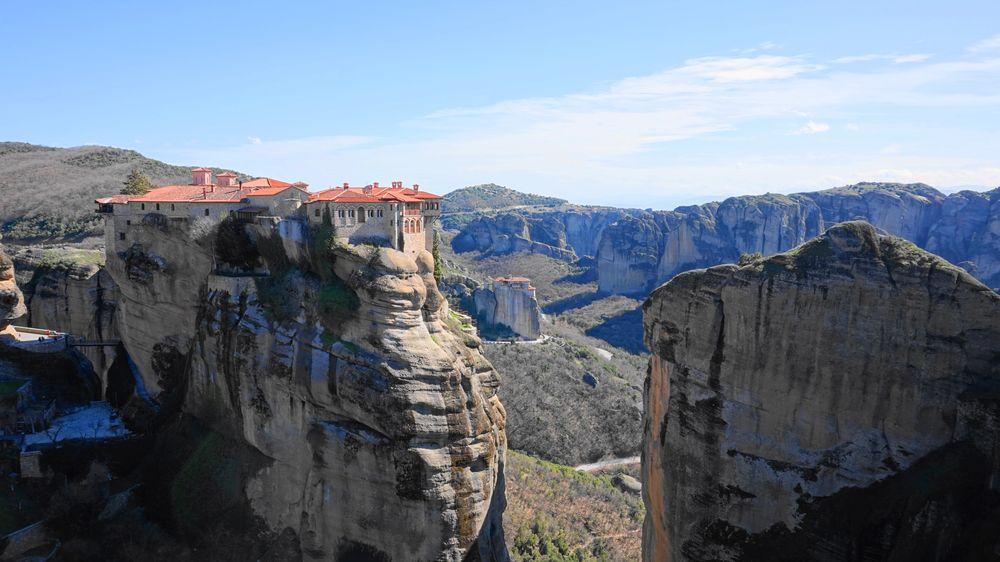 梅特歐拉Meteora修道院:瓦爾拉姆修道院 Varlaam Monastery.第二大修道院