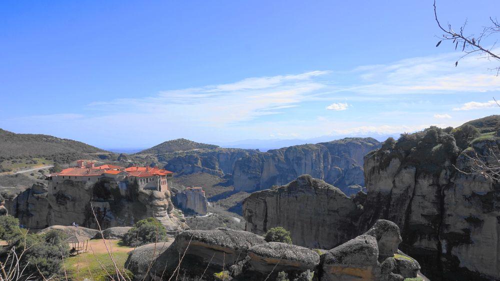 梅特歐拉Meteora修道院:瓦爾拉姆修道院 Varlaam Monastery.