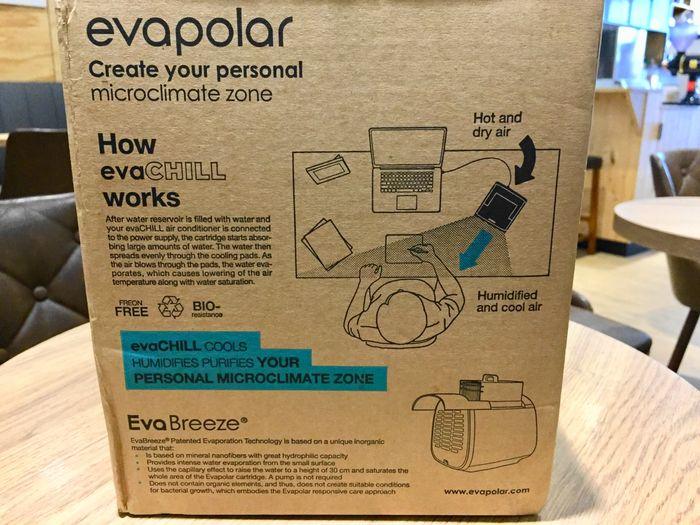 評價:EvaPolar-EvaChill迷你隨身冷氣機
