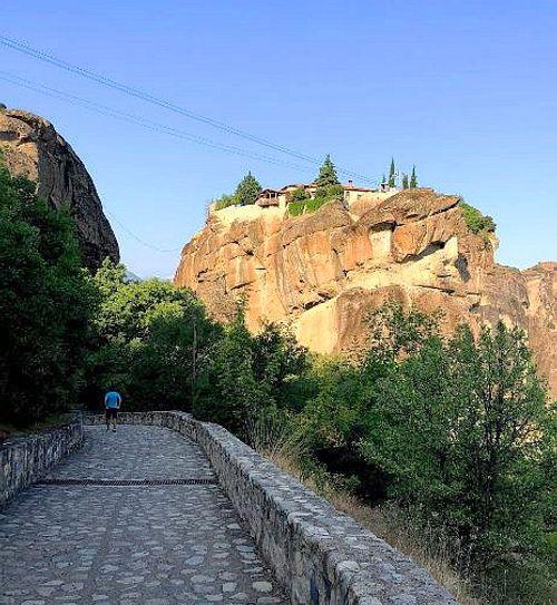 梅特歐拉Meteora修道院:聖三位一體修道院 Holy Trinity Monastery (Agia Triada)