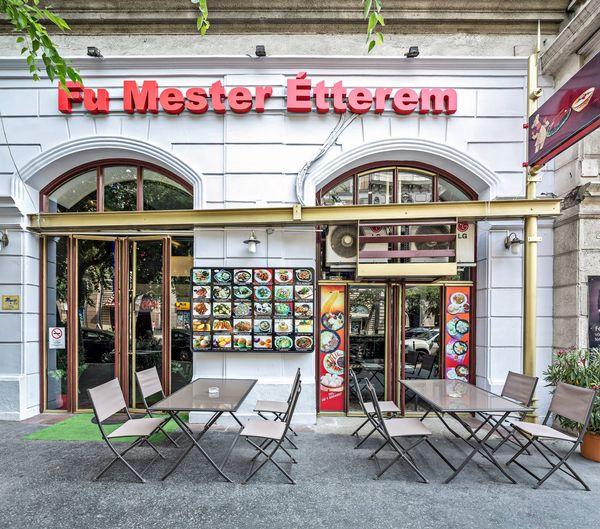 傅師傅中式餐廳 Fu Mester Chinese Restaurant in Budapest-大門