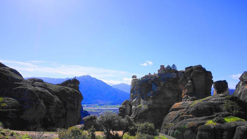 最古老修道院-大梅特歐羅修道院 Great Meteoron Monastery