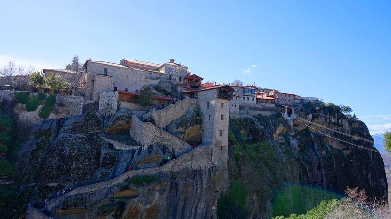 梅特歐拉最大修道院-大梅特歐羅修道院 Great Meteoron Monastery,第二難爬。