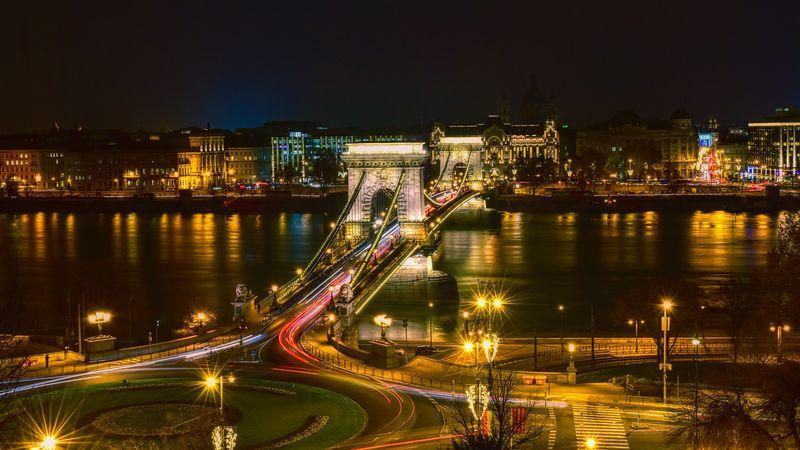 塞切尼鏈橋 (鎖鏈橋) The Chain Bridge,最古老的一座橋。