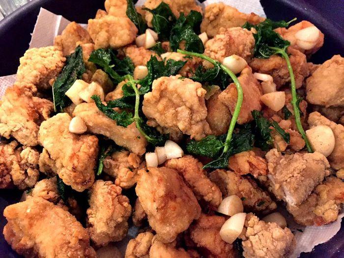 打工度假廚藝會進步,想念台灣美食鹽酥雞只能自己做。