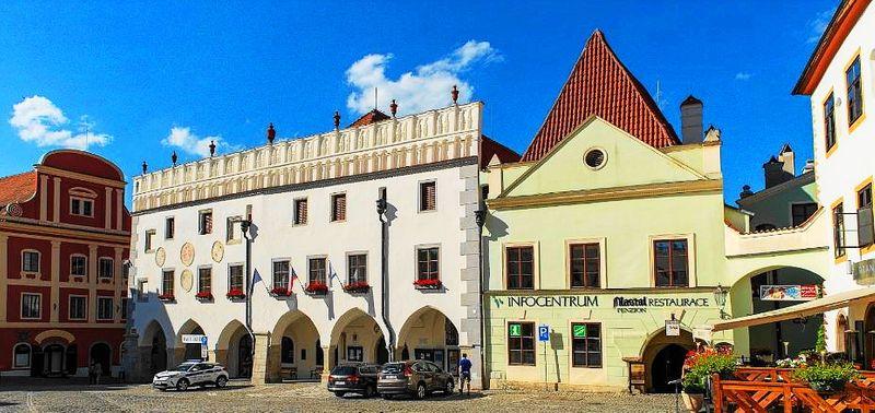Český Krumlov小鎮-遊客中心