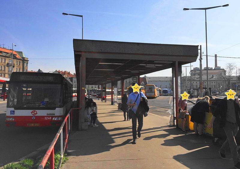 布拉格-CK小鎮:Student Agency 巴士站