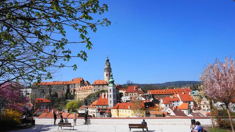 Český Krumlov (CK小鎮)觀景台