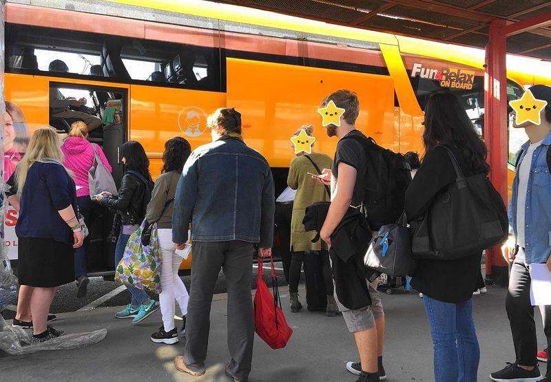 布拉格-CK小鎮:Student Agency巴士
