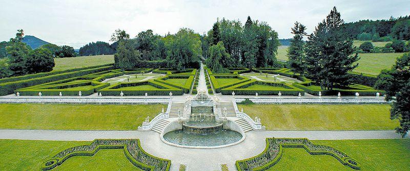 CK小鎮-城堡花園The Castle Garden of Český Krumlov