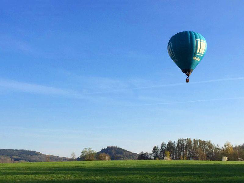 CK小鎮-城堡花園The Castle Garden of Český Krumlov,居然可以搭氣球