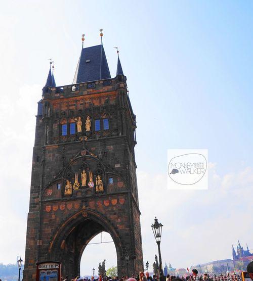 布拉格查理大橋:舊城(老城)區塔樓