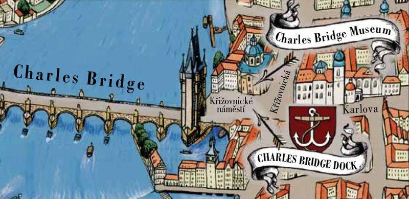 查理大橋博物館位置圖