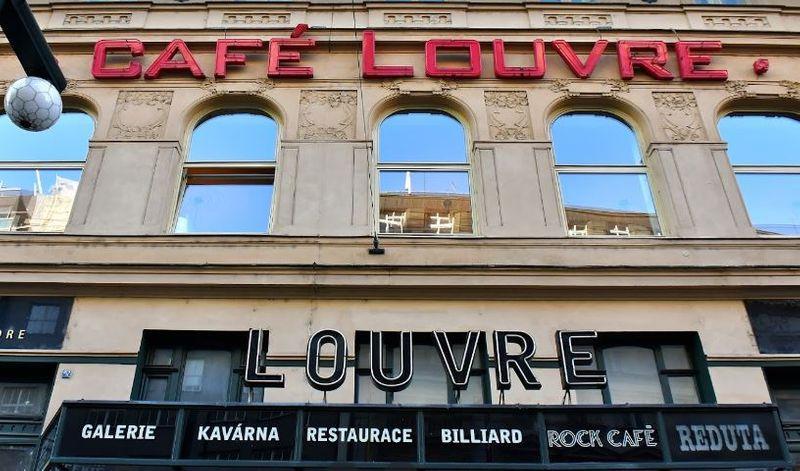 布拉格美食:羅浮咖啡廳 cafe louvre
