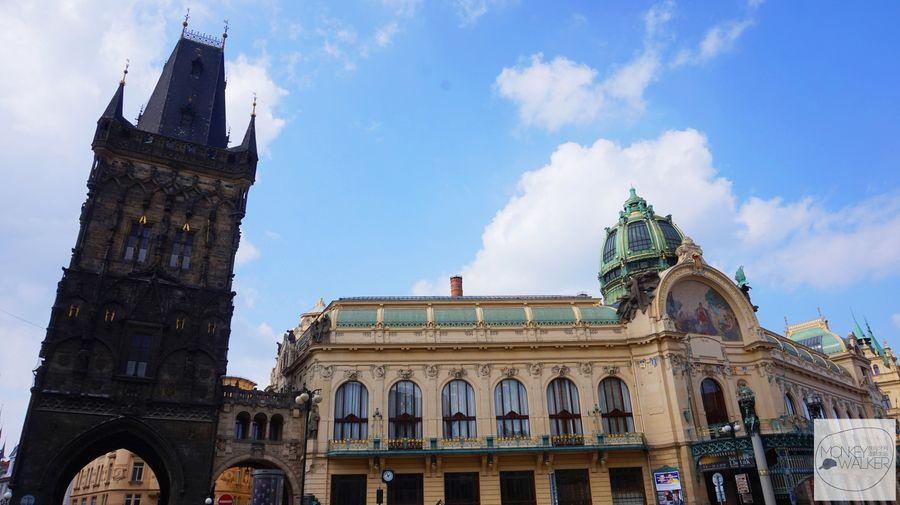 布拉格必去景點-火藥塔、市民會館