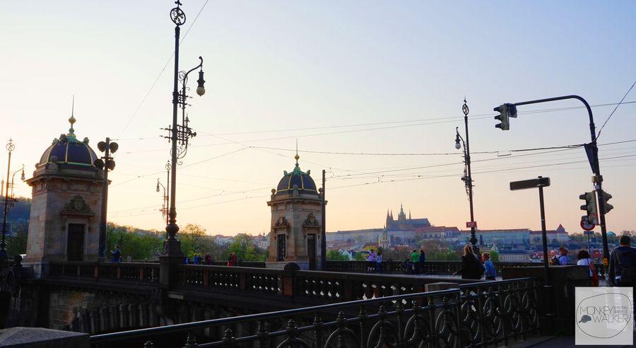 布拉格Prague必去景點-軍團橋Most Legii上看夜景好去處。