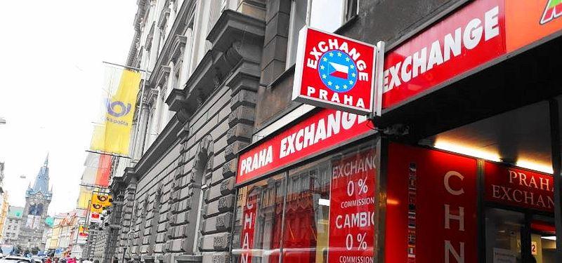 布拉格Prague評價良好的換匯所-Praha Exchange