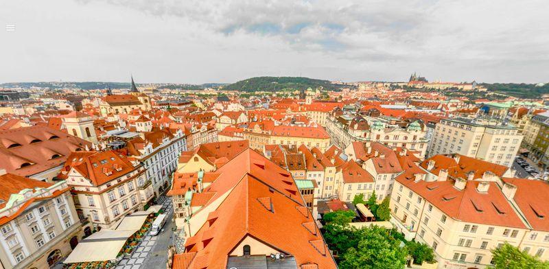 Prague Astronomical Clock 布拉格天文鐘觀景台風景
