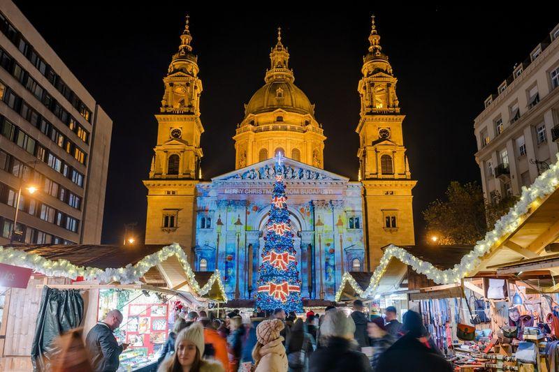 聖史蒂芬教堂聖誕市集