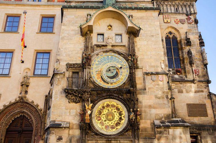 Prague Astronomical Clock 布拉格舊市政廳的天文鐘,必定造訪景點之一。