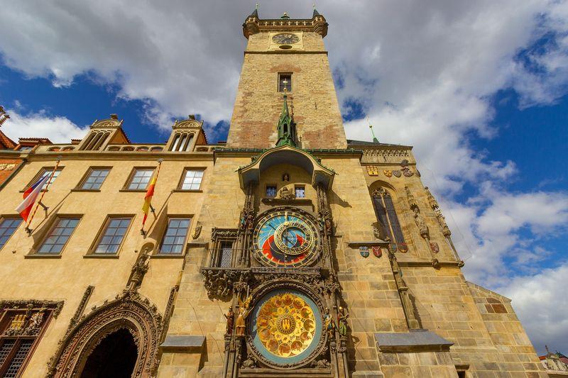 Prague Astronomical Clock 布拉格必去景點-天文鐘