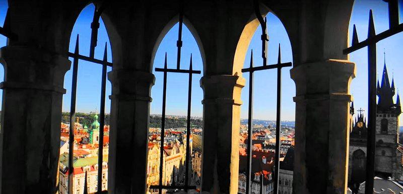 Prague Astronomical Clock 登上布拉格天文鐘塔樓,舊城區的最佳觀景台。