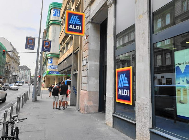 匈牙利布達佩斯超市品牌-ALDI