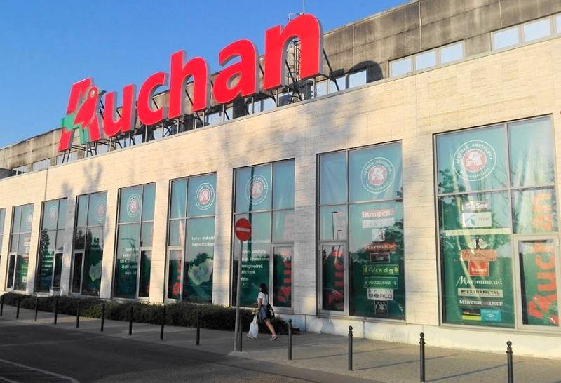匈牙利布達佩斯超市品牌-Auchan