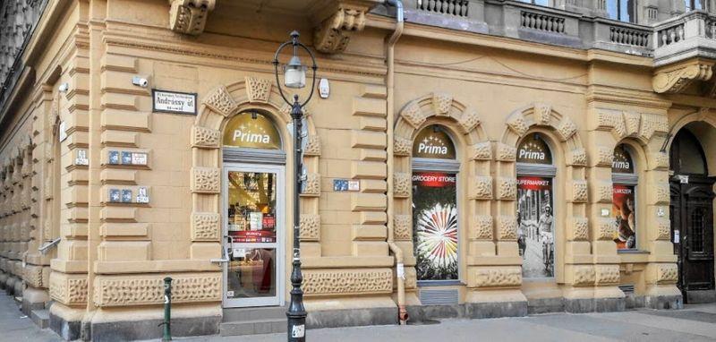 匈牙利當地連鎖超市Prima