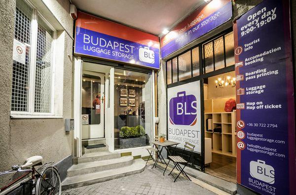 Budapest Luggage Storages (BLS),布達佩斯當地行李寄放業者。