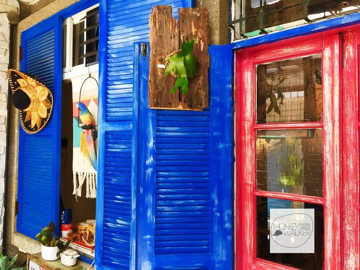 台南墨西哥料理-Zoomos日勿墨食,充滿風情的顏色搭配。