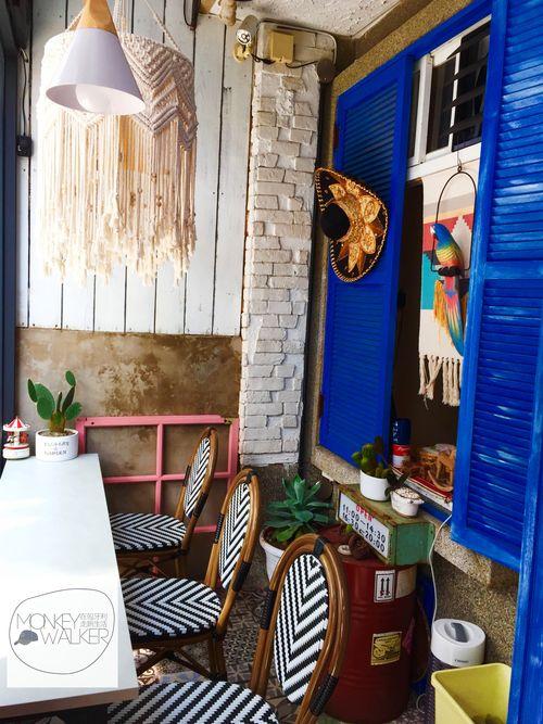 台南墨西哥料理-Zoomos日勿墨食的小空間。