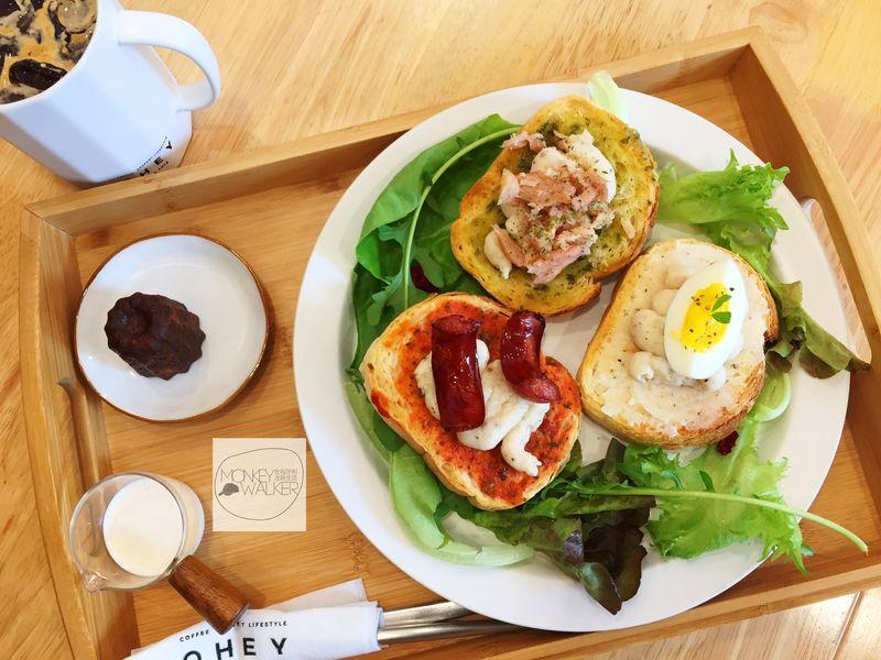 斗六OHEY Cafe慕光咖啡館,早午餐全天供應。