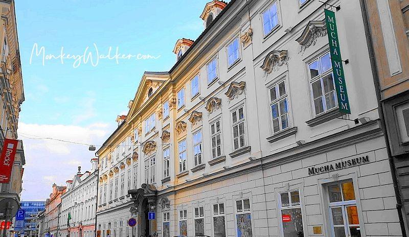 慕夏博物館Mucha Museum,來到布拉格記得空出時間造訪捷克新藝術大師的畫作。