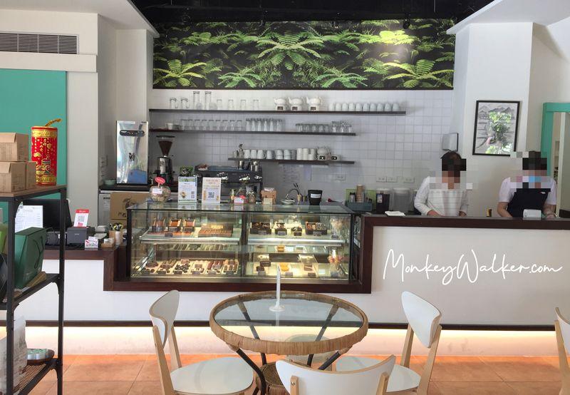 阿信巧克力農場台南店,開始下午茶時間。