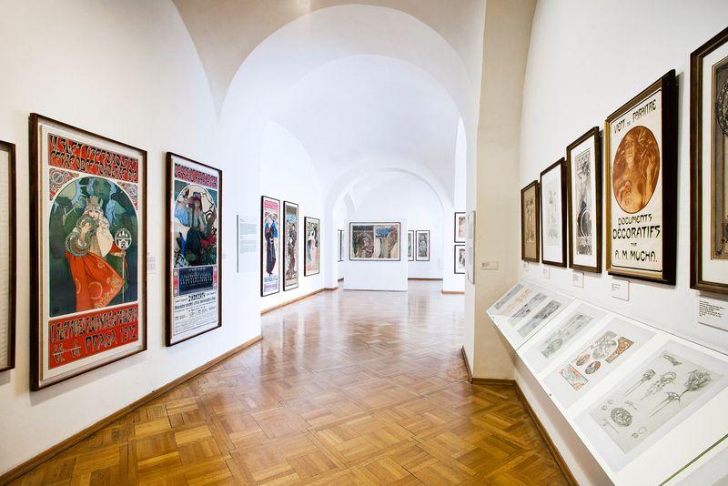 捷克布拉格的慕夏博物館(Mucha Museum)