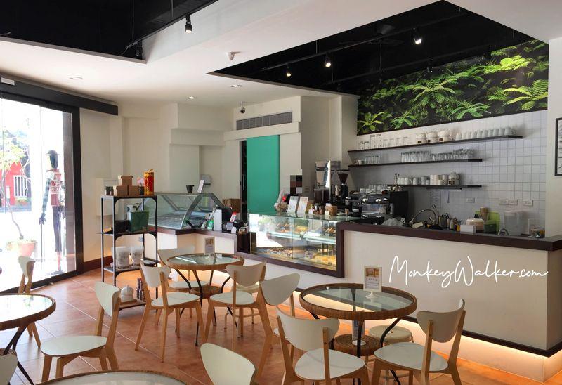 阿信巧克力農場台南店,內部空間。