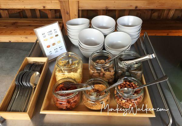 Star Hostel信星旅店台北車站還有提供清粥與小菜。