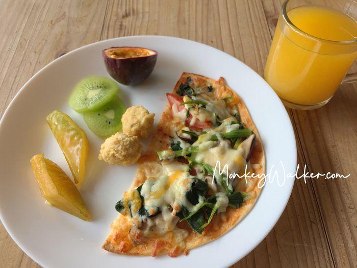 Star Hostel信星旅店台北車站,專屬個人的早餐小套餐,每天食材皆不同。