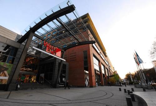 布達佩斯購物中心-WestEnd
