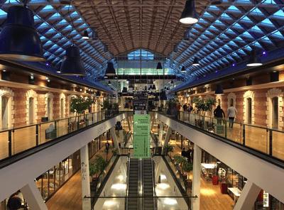布達佩斯購物中-The Whale (Bálna) and Cultural Center內部