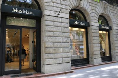 布達佩斯的安德拉什大街(Andrássy Street),國際品牌MaxMara