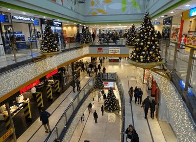 布達佩斯購物中心-ÁRKÁD Budapest 內部