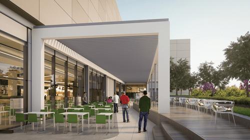 布達佩斯購物中心-Etele Plaza 戶外空間